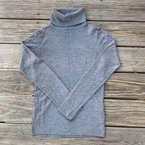 Grey Turtleneck